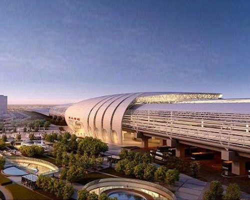 National Key Project of Kunshan Station of Beijing-Shanghai High-speed Railway